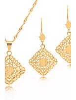 Westernrain Women's Alloy / Titanium Jewelry Set Non Stone