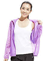 Outdoor Clothing Female Skin Windbreaker Ultra-thin Breathable Quick-drying UV Sun Protection Clothing