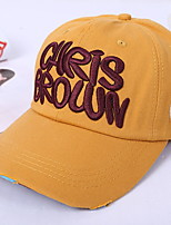 Letters Baseball Cap Spring And Summer Candy-colored Embroidery Hat