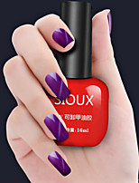 SIOUX Cat Eye Dismountable Phototherapy Purple Matte Nail Glue 16ML Nail Polish