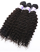 3pcs/lot Deep Curly Brazilian Virgin Hair Products Brazilian Deep Wave Hair Bundles 8A Unprocessed Curly Virgin Hair