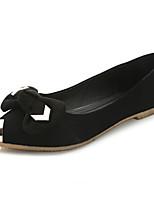 Chaussures Femme-Mariage / Bureau & Travail / Habillé / Décontracté / Soirée & Evénement-Noir / Rouge / Gris-Gros Talon-A Plateau /