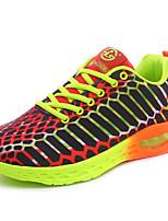 Scarpe da uomo-Sneakers alla moda / Scarpe da ginnastica-Tempo libero / Casual / Sportivo-Materiali personalizzati / Tulle-Blu / Arancione