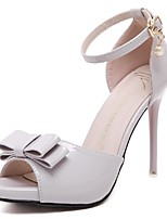 Women's Shoes Stiletto Heel Heels / Peep Toe / Platform / Ankle Strap Sandals Wedding / Party & Evening / Dress