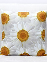 3D Chrysanthemum Pattern Velvet Pillowcase Sofa Home Decor Cushion Cover (18*18inch)