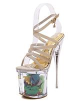 Chaussures Femme-Mariage / Bureau & Travail / Habillé / Décontracté / Soirée & Evénement-Argent / Or-Talon Aiguille-Talons / Confort /