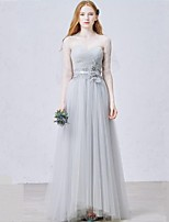 Formal Evening Dress Sheath/Column Sweetheart Floor-length Tulle