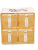 Seasoning Box Spice Bottles 4 Layers Container Cruet Set