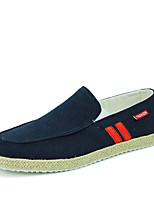 Men's Shoes Outdoor / Office & Career / Casual Canvas Loafers Blue / Gray