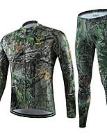Radsport Oberteile / Unten / Kleidungs-Sets/Anzüge / T-shirt / Shorts / Hosen / Trainingsanzug / Trikot / KompressionsanzugDamen / Herrn