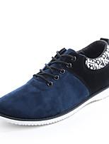 Scarpe da uomo-Sneakers alla moda / Senza lacci-Tempo libero / Casual / Sportivo-Scamosciato-Nero / Blu / Rosso