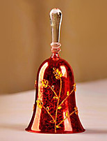 European Style Glass Red Color 1pc/set