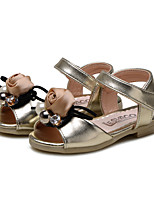 Baby Shoes Wedding / Outdoor / Dress / Casual Leatherette Sandals Pink / Gold