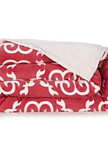Super Soft Soild Flannel Multi-sized Plush Blanket