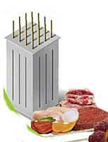 16 Hole Brochette Express Mutton String Machine Barbecue Tools String of Meat Grinder