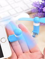 Popular Mini Usb Fan for iPhone 8 7 Samsung Galaxy S8 S7 5/5S/6/6 Plus iPad air/ari2 (Assorted Color)