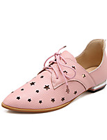 Women's Shoes  Mary /Pointed Toe Fashion Sneakers Office & Career/Casual Black/Pink/White/Silver