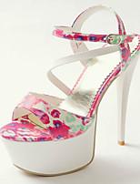 Women's Shoes PU Stiletto Heel Heels / Peep Toe / Platform / Slingback Sandals Party & Evening / Dress / Casual