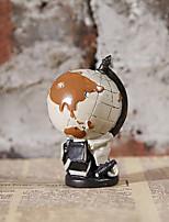Resin Handicraft American Retro Globe Creative Home Furnishing Articles
