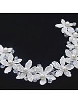 סרטי ראש כיסוי ראש נשים / נערת פרחים חתונה / אירוע מיוחד דמוי פנינה / בד חתונה / אירוע מיוחד חלק 1