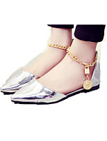 Women's Shoes PU Flat Heel Pointed Toe Sandals Outdoor / Office & Career / Party & Evening / Dress