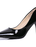 Women's Shoes PU Stiletto Heel  Wedding / Outdoor / Office & Career / Party & Evening / Dress / Black / Pink / Red