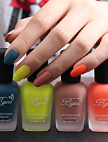 4 PCS-Bgirl Nail Art  Matte Nail Polish -16ml/Bottle (25-28) 4 colors /Set