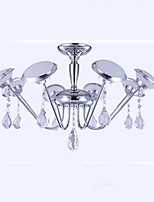 Iron Shaped Modern Minimalist led Chandelier 8