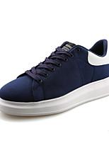Scarpe da uomo-Sneakers alla moda-Casual-Finta pelle-Blu / Rosso