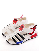 Boys' Shoes Outdoor / Athletic / Casual Leatherette Sandals / Fashion Sneakers Black / Yellow / White