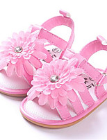 Baby Shoes Dress / Casual PU Flats Pink