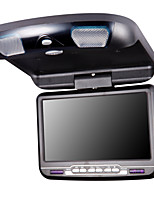 9 Inches Car Flip Down DVD Player in Black