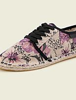 Men's Shoes Athletic Canvas Fashion Sneakers Purple / Orange