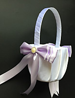Flower Basket Satin Garden Theme / Vegas Theme / Classic Theme / Butterfly ThemeWithRibbons / Bow / Rhinestones