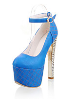 Women's Shoes PU Chunky Heel Heels / Platform / Round Toe Heels Party & Evening / Dress / Casual