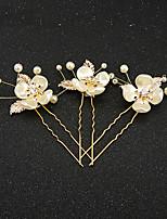 Damen / Blumenmädchen Kopfschmuck Hochzeit / Besondere Anlässe Haarklammer Strass / Künstliche Perle / Harz Hochzeit / Besondere Anlässe2