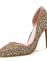 Women's Shoes Glitter /Stiletto Heel Heels / Styles / Pointed Toe Heels Wedding / Office & Career / Party & Evening