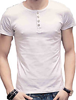 The 2016 Summer Mens Cotton tee youth t-shirt slim fashion Jersey Shirt Youth tide