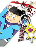 Matsuno Osomatsu /Todomatsu/ Karamatsu /Ichimatsu /Jyushimatsu Alloy Key More Accessories