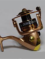 Metal  Fishing Spinning Reel Gear Ratio 5.1:1 Exchangable Handle-AF4000