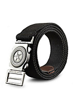 Mens Canvas Belt Cintos Cummerbund Buckle Waist Strap Belts For Men