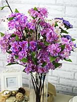 A Branch Silk Sakura Artificial Flowers 1pc/set