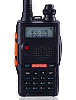 BaoFeng UV-5R5TH-BLK Walkie Talkie 5W/1W 128 136-174MHz / 400-520MHz 1800mAh 1'5KM-3KMRadio FM / Comando por Voz / Banda Dual / Display