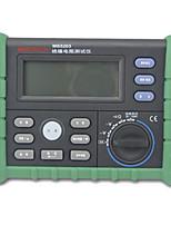 MASTECH ms5203 зеленый для сопротивления изоляции мегомметром
