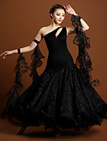 High-quality Lace and Tulle with Draped Performance Dresses for Women's Performance