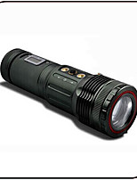 Led Fishing Light with LCD Touch Sensor /High-tech 10W Adjustable Focus / 2LED 3 colors Light Source / Waterproof