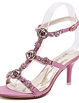 Women's Shoes Leatherette Stiletto / Slingback / Gladiator / Comfort / Novelty / Ankle Strap / Open Toe Sandals