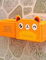 boîte d'aspiration en plastique pour animaux suspendus salle de bain racks muraux