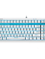 Orginal Rapoo V500S Blue Switch Upgraded Backlight Version Full Keys Programmable 2.0mm Pro Mechanical Gaming Keyboard