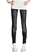 Brand Fahion Women's Skinny Leggings WomenHole Pleated Prints Pants Casual Pants